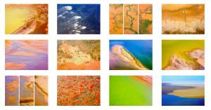 Farbenpracht im Outback - Rückseite